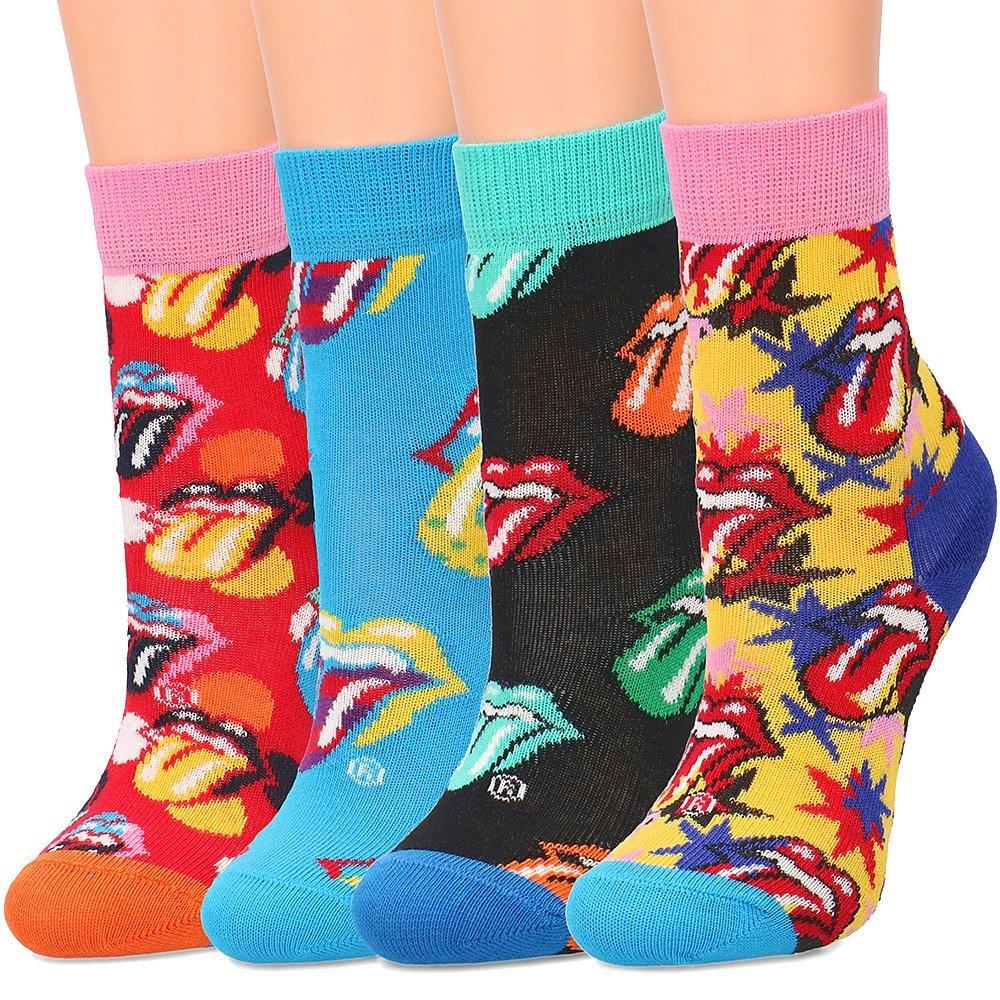Happy Socks 4-Pack - Skarpety Dziecięce - XKRLS09-0100
