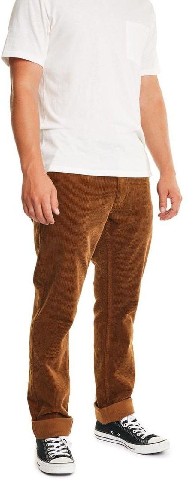 spodnie męskie BRIXTON RESERVE CHINO LIMITED PANT Bison