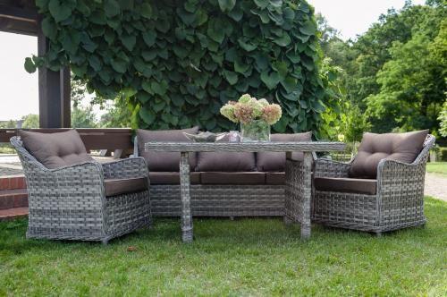 Ekskluzywne meble ogrodowe DIVINO wysoki stół