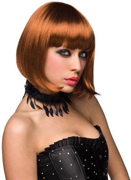 Pleasure Wigs Cici Wig Red - Wig
