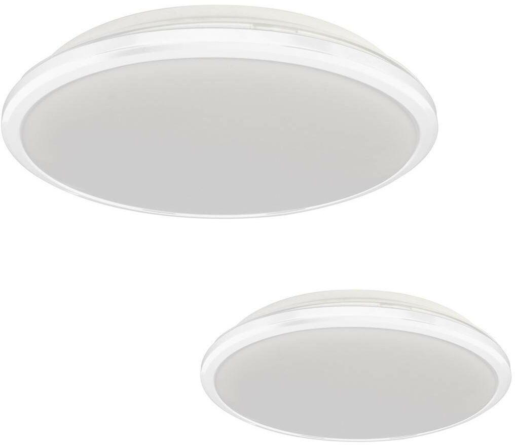 Plafon TERMA WHITE 18W LED IP44 Ø280 mm