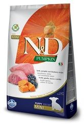 FARMINA N&D Pumpkin Lamb&Blueberry 0,8 kg Dog Puppy Mini