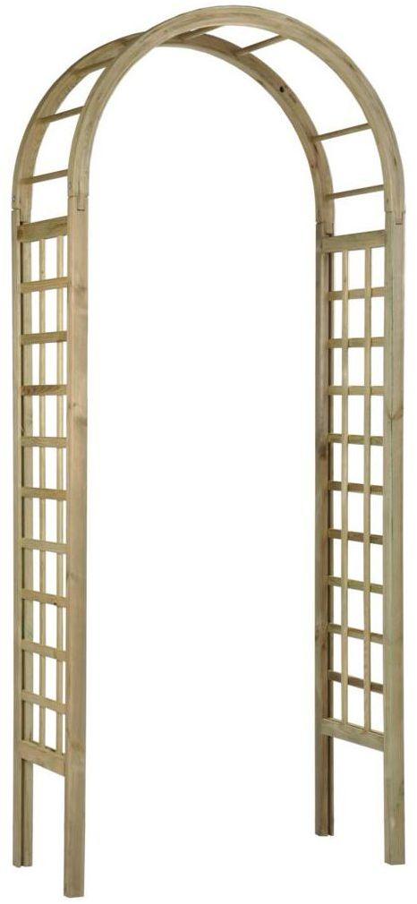 Pergola ogrodowa 90 x 45 x 220 cm drewniana ROZA SOBEX