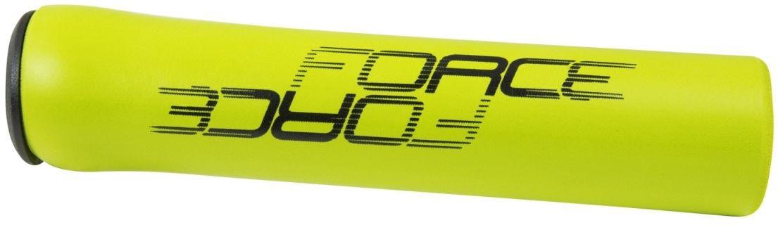 FORCE chwyty kierownicy rowerowej lox fluor żółty 382972,8592627079160