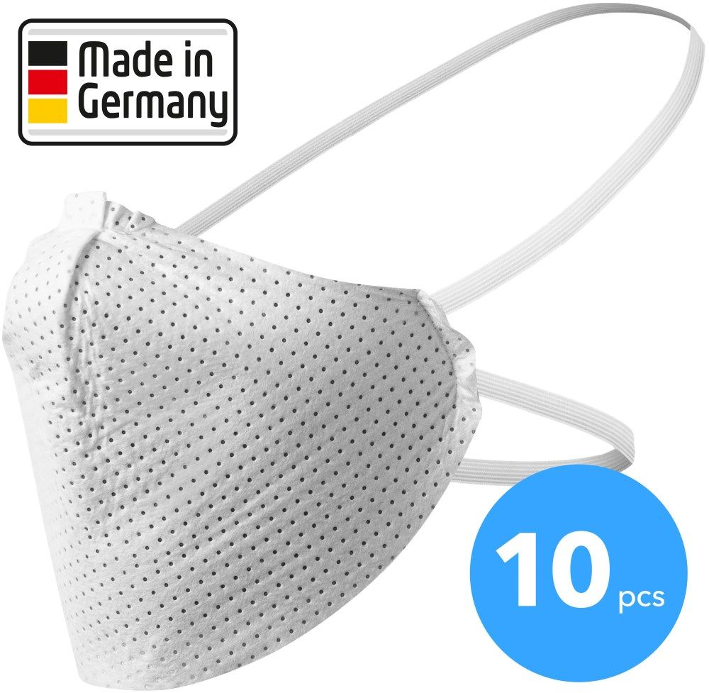 Maska na twarz, maska na usta i nos made in Germany 10 sztuk