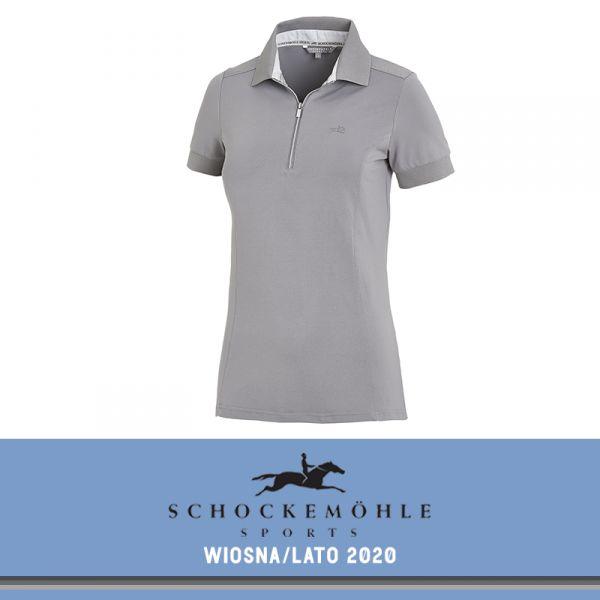 Koszulka polo FIONA SS20 - Schockemohle - asphalt