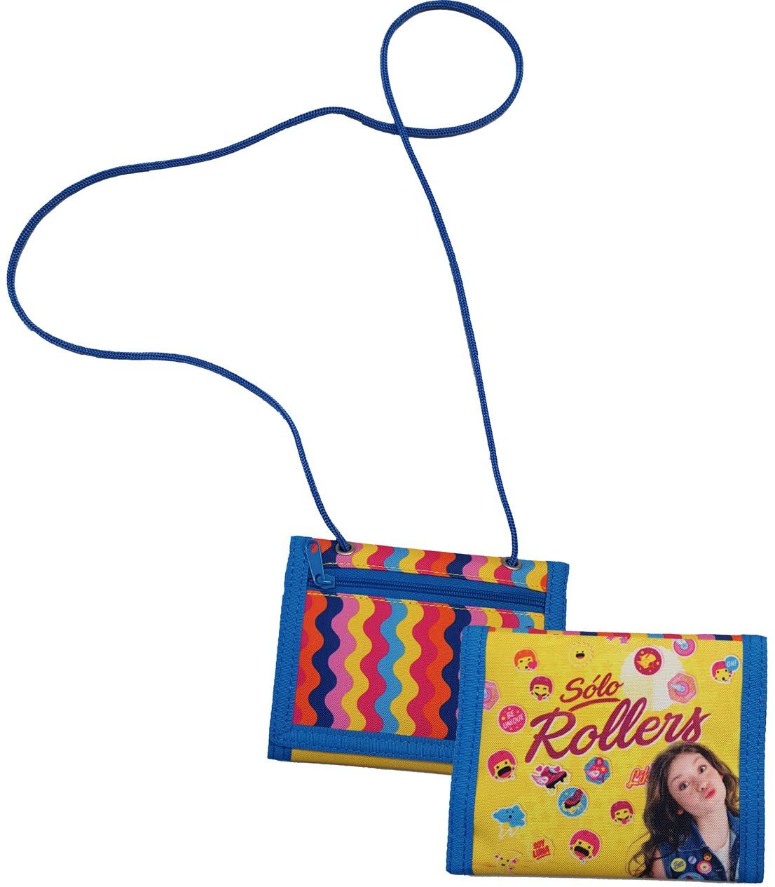 Joy Toy 93815 Disney Soy Luna portfel, kolorowy