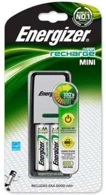 Ładowarka + akumulatory ENERGIZER Mini Charger +2AA 2000 mAh