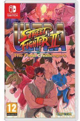 Gra Nintendo Switch Ultra Street Fighter II: The Final Challengers
