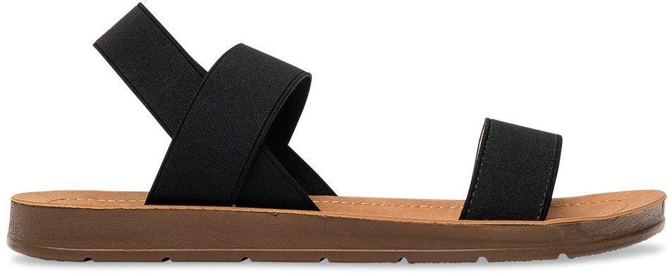 Sandałki damskie Super Mode 4609 Czarne