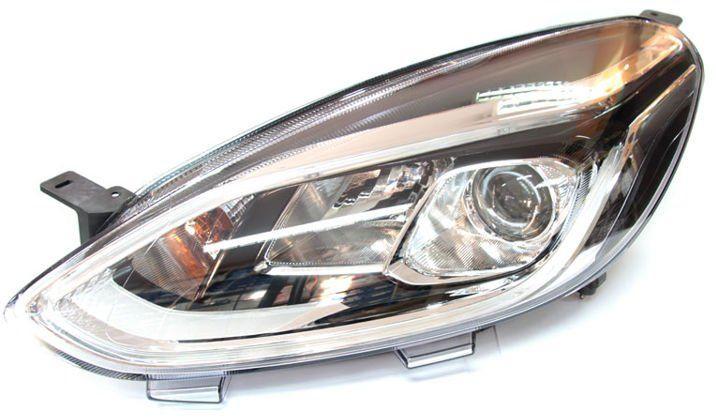 reflektor soczewkowy +LED Fiesta Nowy Model -Lewy  2459620 USZKODZONY