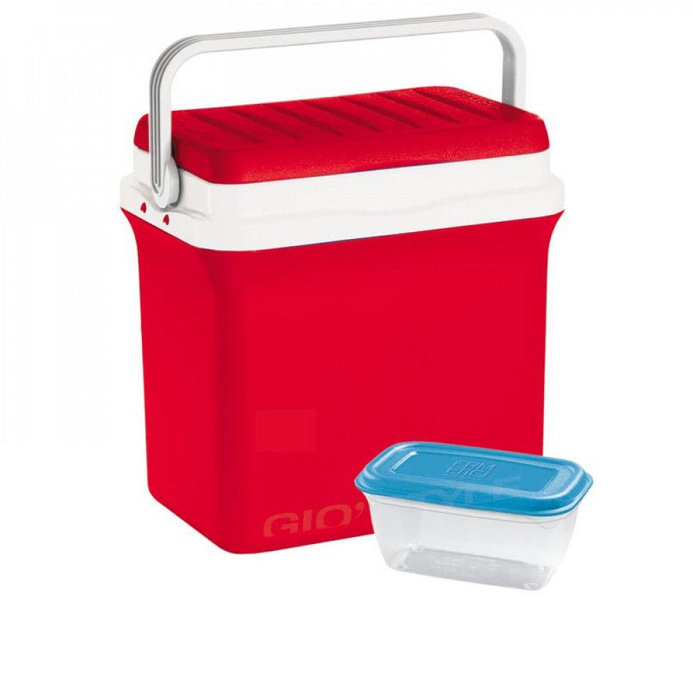 Lodówka Turystyczna Plastikowa Gio Style Ciao Czerwona 29,5 L - /W48h/