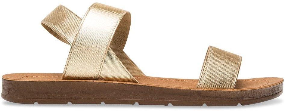 Sandałki damskie Super Mode 4609 Złote