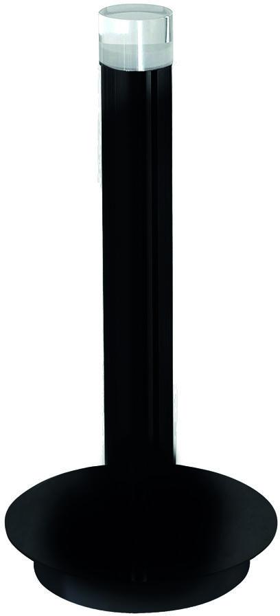 Lampa stojąca CARBON led czarna ML186 Milagro  Skorzystaj z kuponu -10% -KOD: OKAZJA