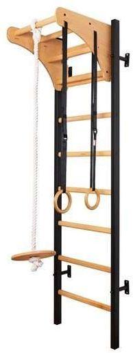 Drabinka gimnastyczna z drewnianymi szczebelkami 212B BenchK 230 x 67 cm - 212B