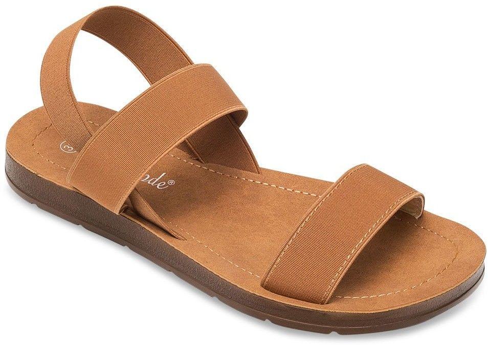 Sandałki damskie Super Mode 4609 Brązowe