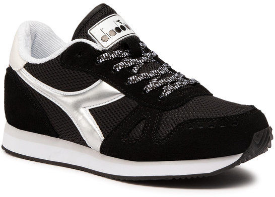 Diadora Sneakersy Simple Run Wn 101.175733 01 C0641 Czarny