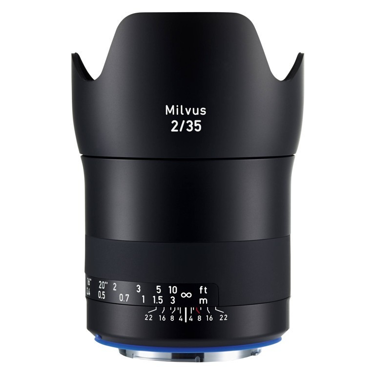 Obiektyw Zeiss Milvus 35mm f/2,0 ZE Canon