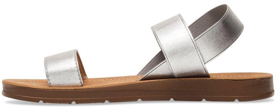 Sandałki damskie Super Mode 4609 Srebrne