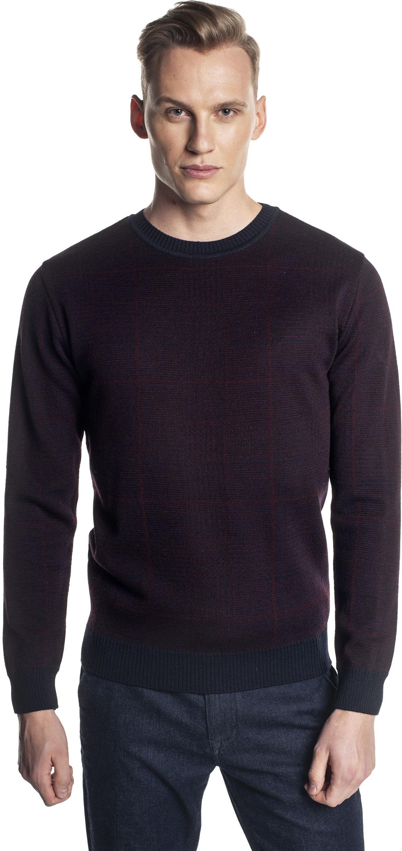 sweter grillons półgolf brąz