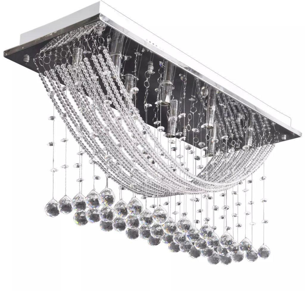 Kryształowa lampa sufitowa w stylu glamour - E995-Diamis