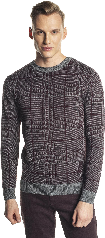sweter grillons półgolf bordo