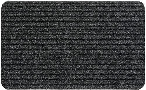 Wycieraczka Fortuna 100% polipropylen, 40 x 60 cm, szara / antracyt