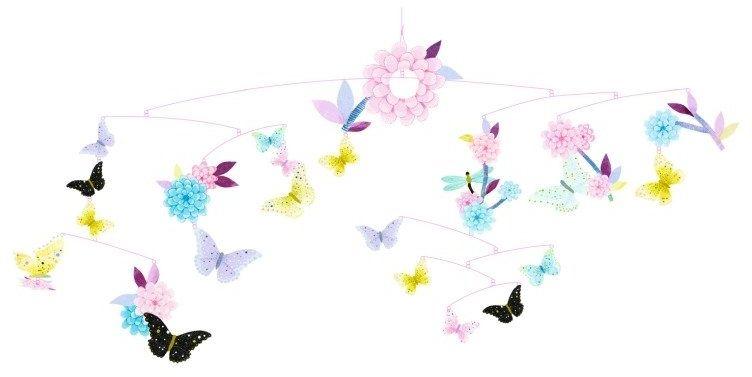 Karuzela nad łóżeczko. Ogród pełen motyli, DD04320-Djeco