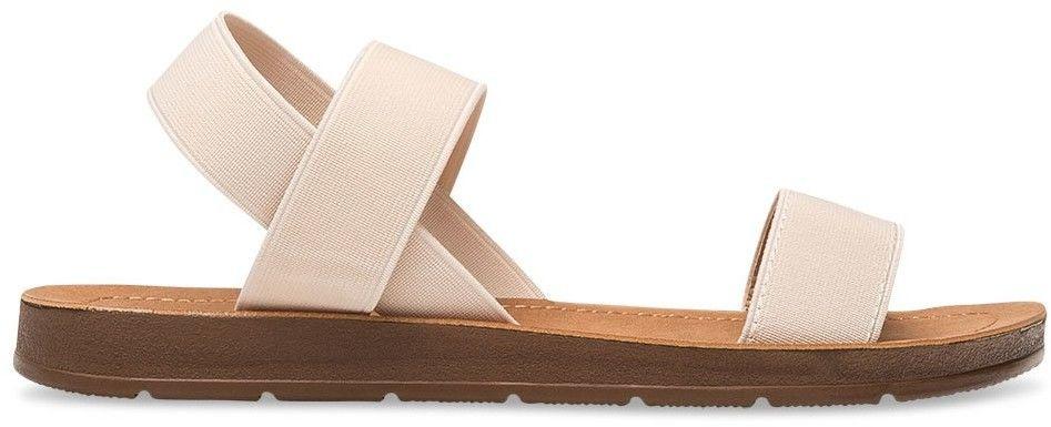 Sandałki damskie Super Mode 4609 Beżowe