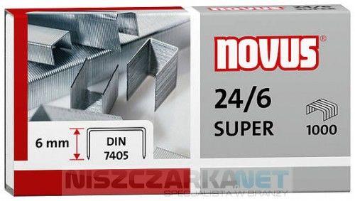 Zszywki standardowe Novus 24/6 DIN SUPERx1000