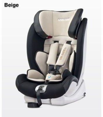 Caretero fotelik samochodowy volante fix 9-36 graphite