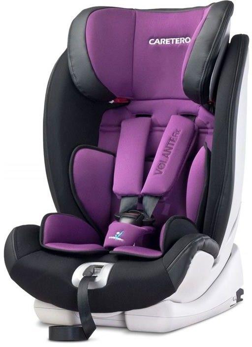 Caretero fotelik samochodowy volante fix 9-36 purple