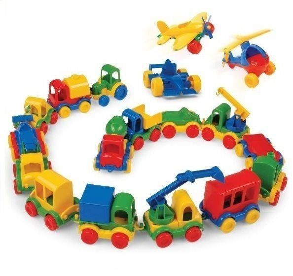 Kid Cars Autka, różne rodzaje - WADER