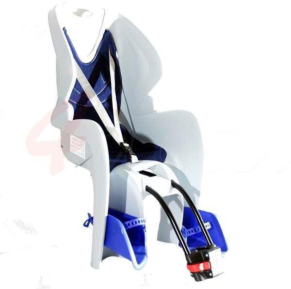 Fotelik rowerowy BIKE-GP blue