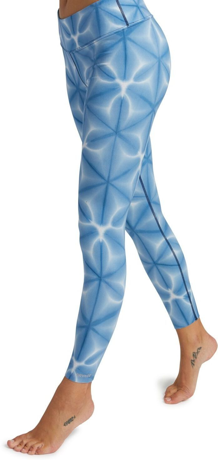 spodnie termoaktywne BURTON - Mdwt Pt Blue Dailola Shibori (403) rozmiar: S