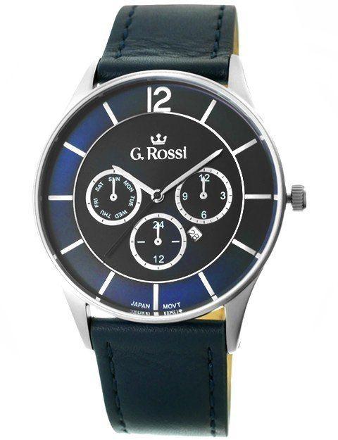 Zegarek Męski G.Rossi 7028A-6F1