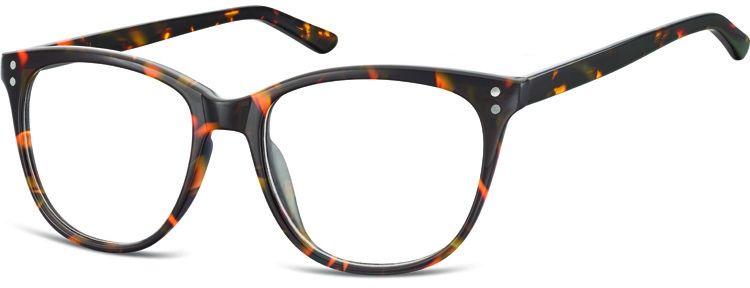 Okulary oprawki zerówki korekcyjne Unisex Sunoptic AC22A panterka