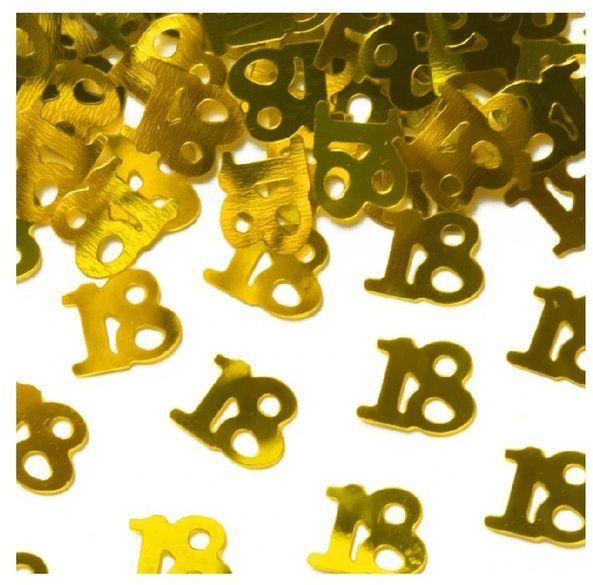 Konfetti 18 złote 15g 511557
