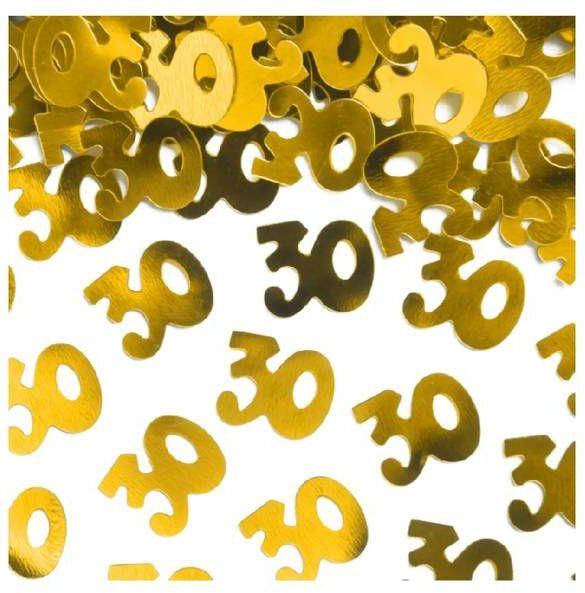 Konfetti 30 złote 15g 511558