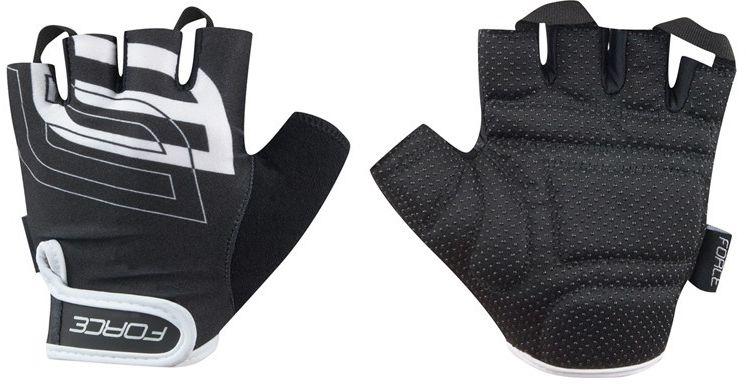 FORCE SPORT rękawiczki rowerowe czarno-białe 905573 Rozmiar: XL,force-905573