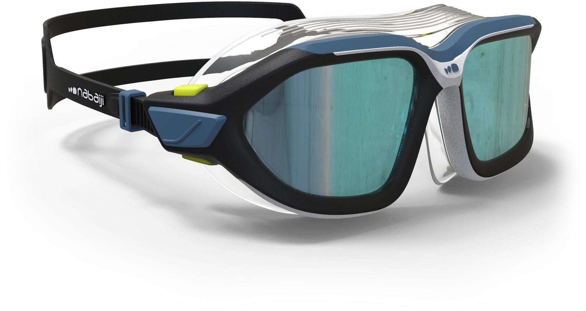 Maska Pływacka 500 Active L Lustrzane Szkła