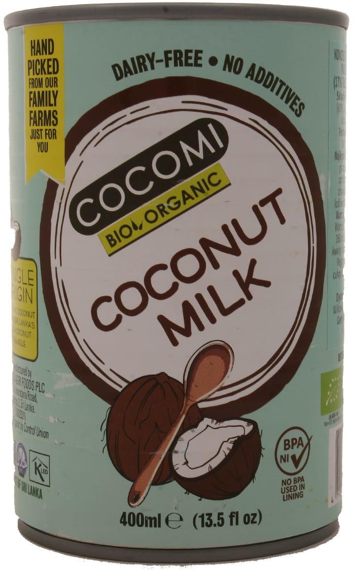 Kokosowa alternatywa mleka w puszce 17%tłuszczu BIO - Cocomi - 400ml