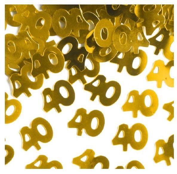 Konfetti 40 złote 15g 511559