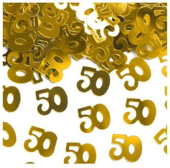 Konfetti 50 złote 15g 511560