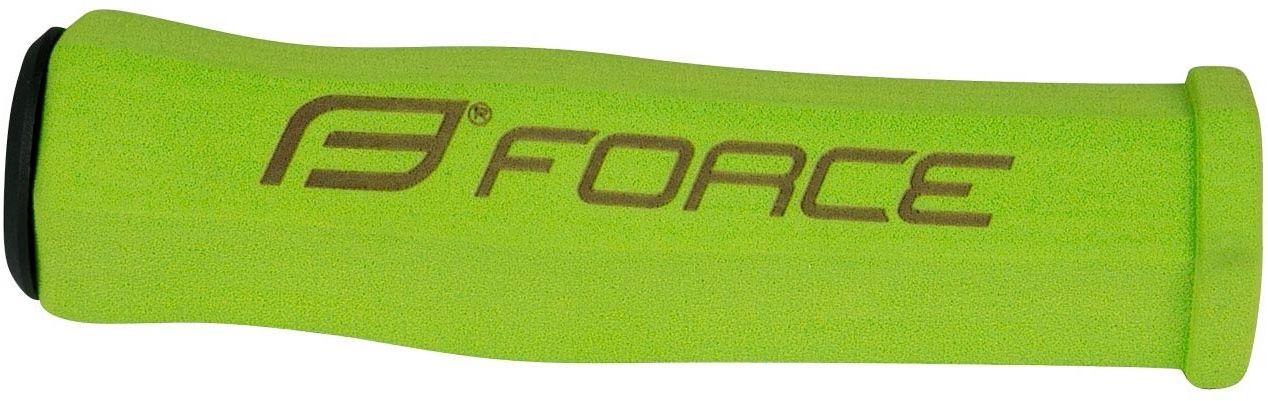 FORCE chwyty kierownicy rowerowej 122mm zielony 38282,8592627096891