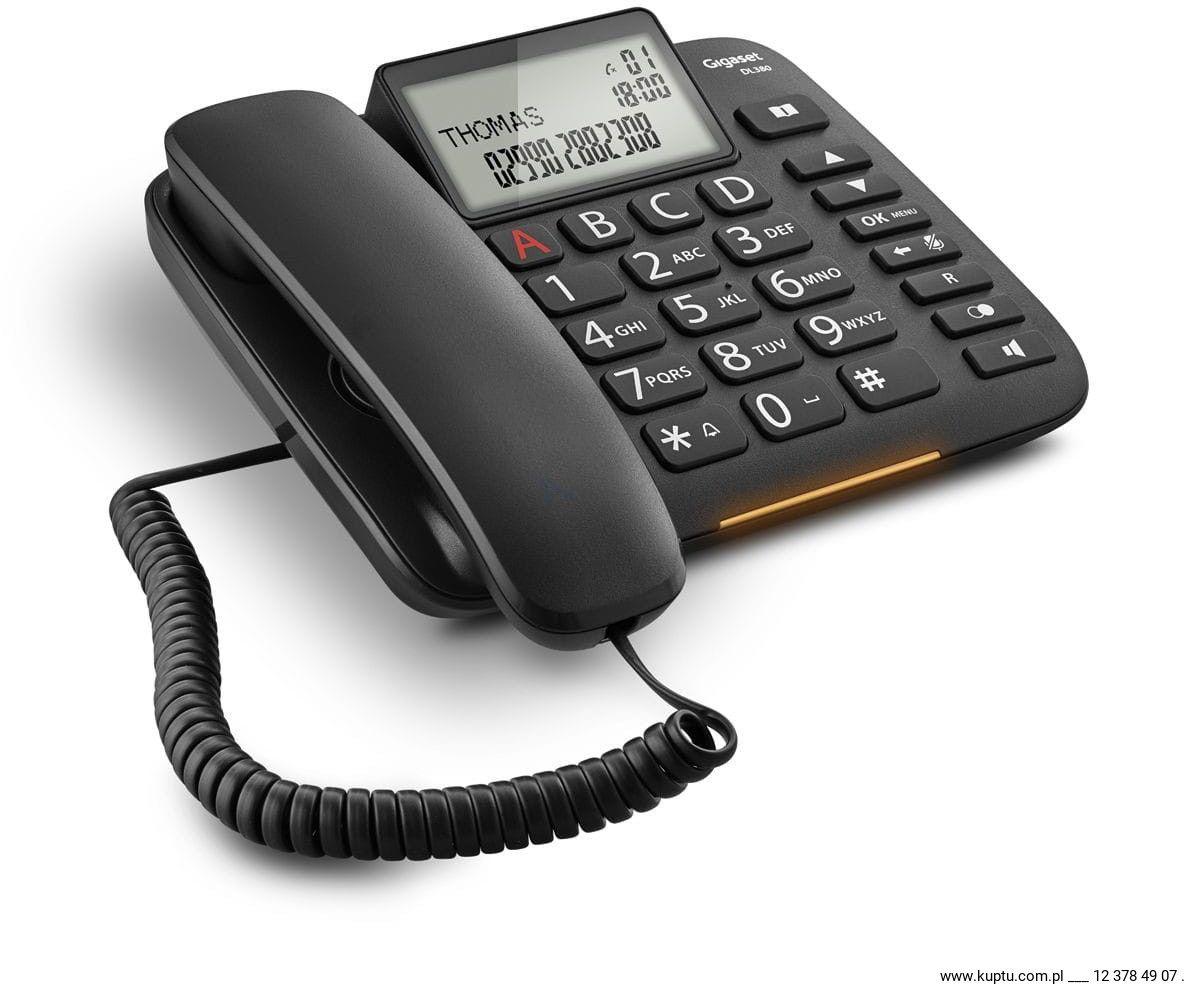 Gigaset DL380, telefon sznurowy