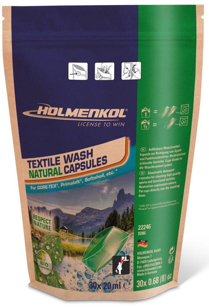 Kapsułki do prania odzieży sportowej Holmenkol Textile Wash