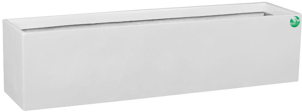 Donica z włókna szklanego D109A biały połysk