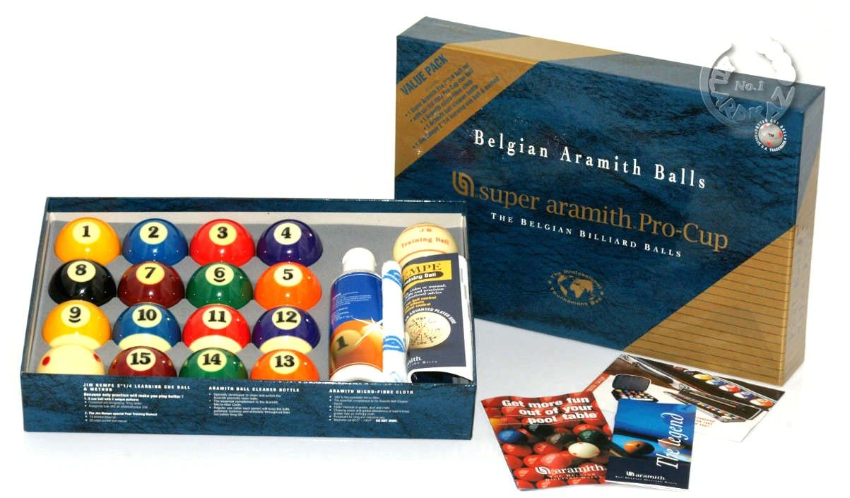Bile pool Aramith Super Pro-Cup Value Pack