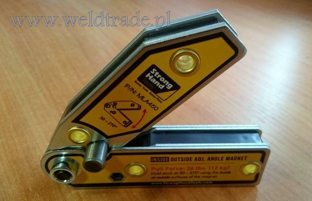 Kątownik magnetyczny MLA450